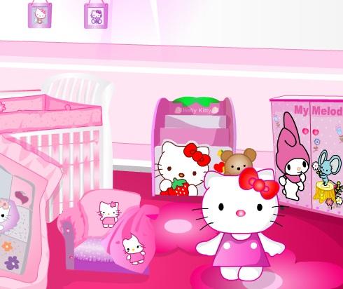 Игра Hello Kitty Room онлайн