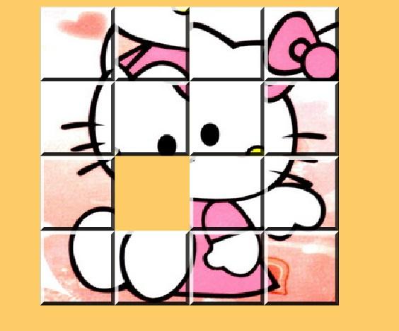 Игра Hello Kitty Sliding онлайн
