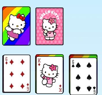 Игра Hello Kitty Solitaire онлайн