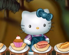 Игра Hungry Hello Kitty онлайн