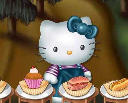 Игра Hungry Hello Kitty онлайн