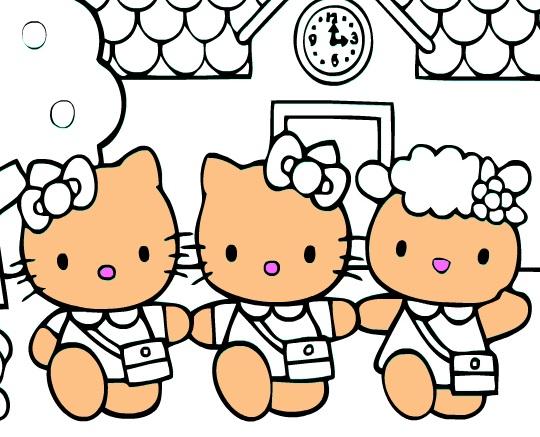 Игра Kitty And Friends онлайн