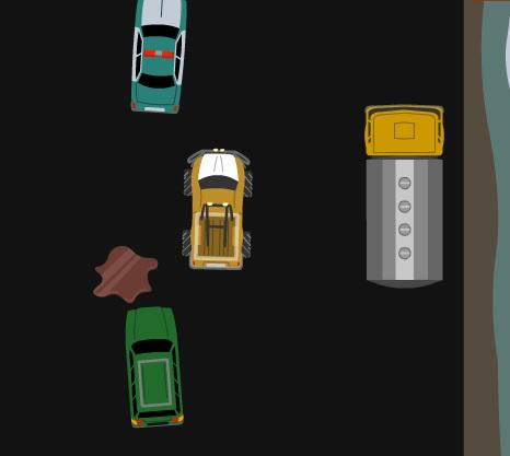 Игра South Park Candy Alien Chase онлайн