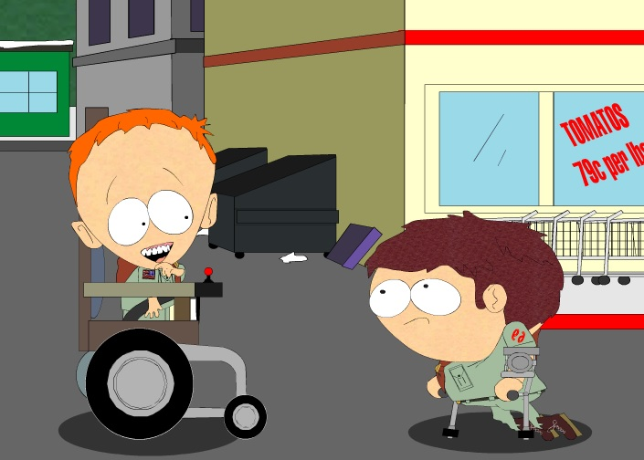 Игра South Park Cripple Fight онлайн