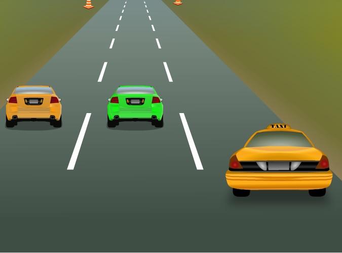 Игра Taxi-Rush онлайн