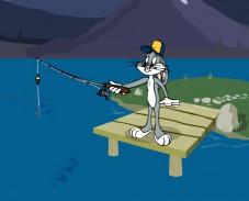 Игра Багз Банни рыбалка онлайн