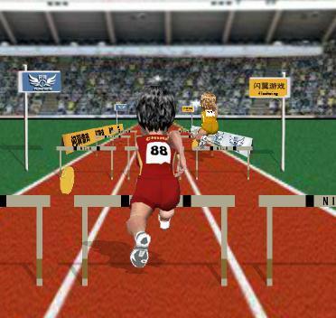Игра Бег с барьерами онлайн