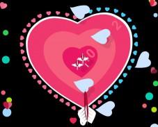 Игра Дартс Святого Валентина онлайн