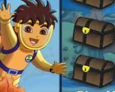 Игра Диего ищет сокровища онлайн