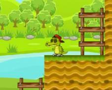 Игра Крокодильчик Свомпи бродилка онлайн