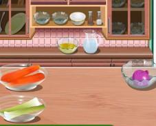 Игра Кухня Сары: чечевичный суп онлайн