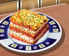 Игра Кухня Сары: лазанья онлайн