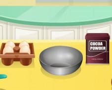 Игра Кухня Сары: торт обезьянка онлайн