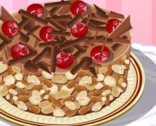 Игра Кухня Сары: шоколадный торт онлайн