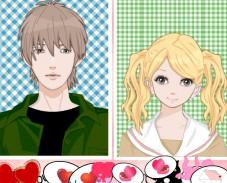Игра Одевалка: аниме пара онлайн