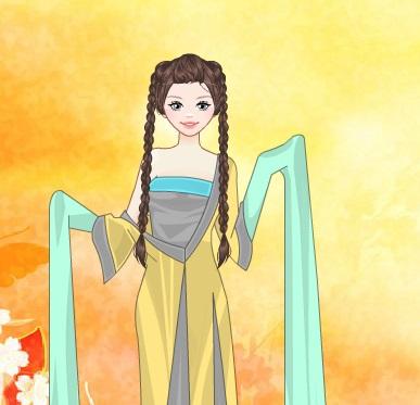 Игра Одевалка: китайский костюм онлайн