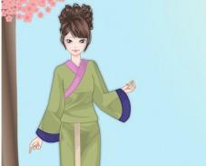 Игра Одевалка юката онлайн
