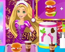 Игра Ресторан Рапунцель онлайн
