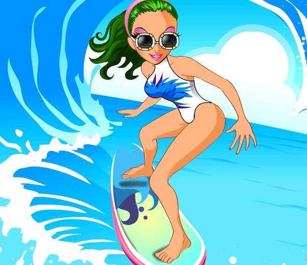 Игра Surf In USA онлайн