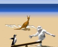 Игра Yeti Sports Albatros онлайн