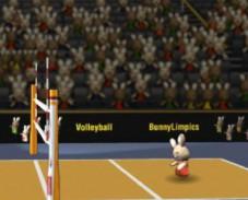 Игра Волейбол для кроликов онлайн