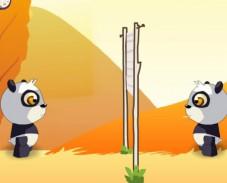 Игра Волейбол с пандами онлайн