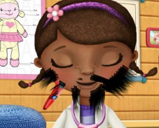 Игра Доктор Плюшева: сбрить бороду онлайн
