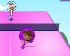 Игра Доктор Плюшева настольный теннис онлайн