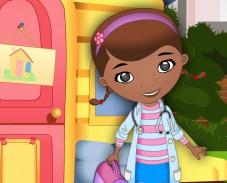 Игра Доктор Плюшева одевалка онлайн