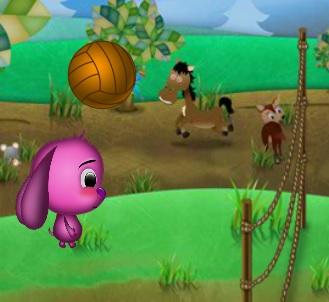 Игра Доли волейбол онлайн