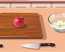 Игра Кухня Сары: пирог Татен онлайн