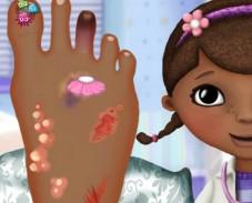 Игра Лечение ноги доктора Макстафинс онлайн