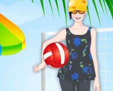 Игра Наряд для пляжного волейбола онлайн