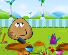Игра Поу в саду онлайн