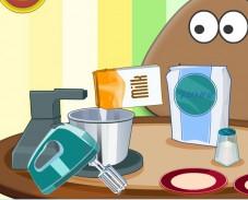 Игра Поу готовит торт онлайн