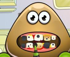 Игра Поу у дантиста онлайн
