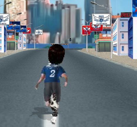 Игра Шальной бегун онлайн