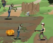 Игра Zombie Waster онлайн