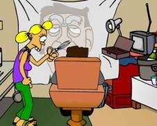 Игра Закон Мерфи: парикмахерская онлайн