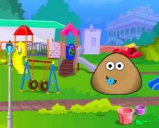 Игра Поу в детском саду онлайн