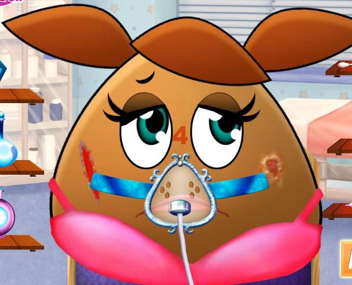 Игра Поу девочка реальная хирургия онлайн