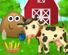 Игра Поу на ферме онлайн