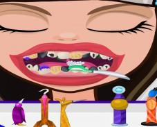Игра Серас Худ у стоматолога онлайн