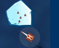 Игра Спасение со льдины онлайн
