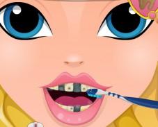 Игра Эпл Вайт у стоматолога онлайн