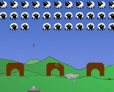 Игра Sheep Invaders онлайн