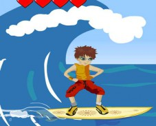 Игра Surfing Danger онлайн