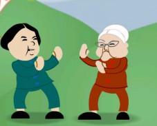 Игра Бабушка Фу онлайн