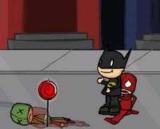 Игра Бэтмен и злодеи онлайн