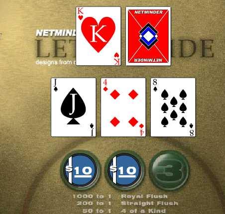 Игра Веселый покер онлайн
